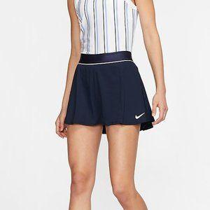 NikeCourt Dri-Fit Tennis Skirt (Dark Navy) Size M